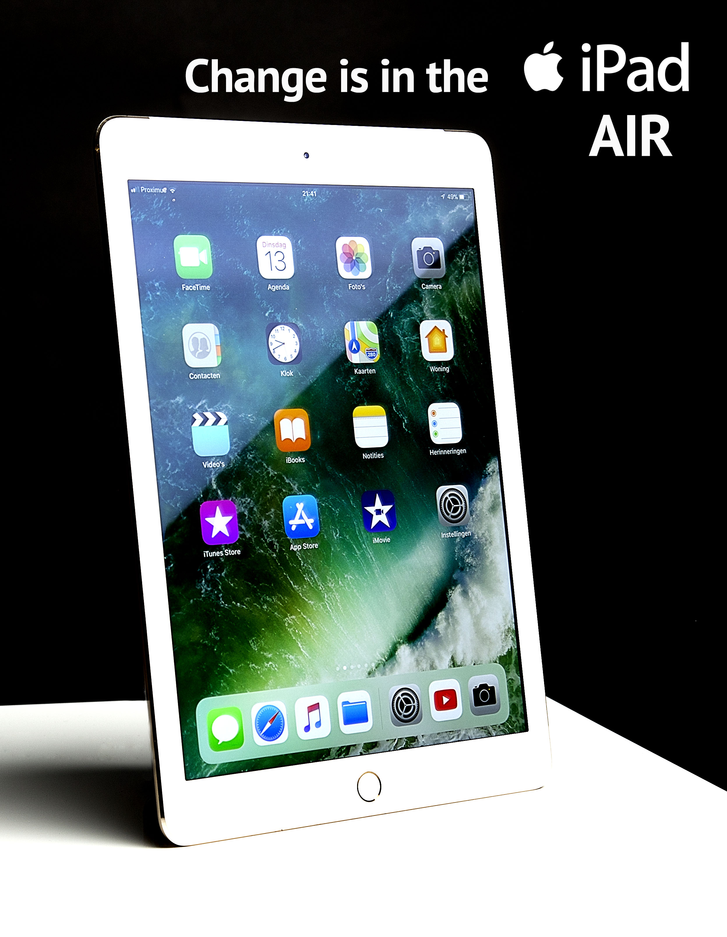 Tablet reklame air